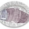 Mag het een maatje meer zijn? (2012) schidering op keramiek, Ø 57 cm (particuliere collectie)
