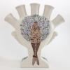Onderwaterboom (2013) schildering op keramiek - tulpenvaas, hoogte 25 cm (particuliere collectie)