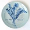 Andijvie (2012) Delfts blauw, Ø 23 cm (particuliere collectie)