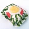 Echte botervloot (2012) schildering op keramiek, 9 x 13 x 16 cm (particuliere collectie)