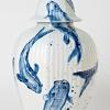 zonder titel (2014) Delfts blauw, hoogte 38 cm (particuliere collectie).