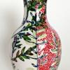 Texelse plant (2014) schildering op keramiek, hoogte 14 cm (particuliere collectie)