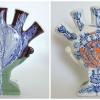 Maurice Christo van Meijel: Tulpenjaar (2015) onderglazuur op keramiek, hoogte 25 cm (particuliere collectie).