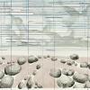 Maurice Christo van Meijel: zonder titel, 01-VII-2004, inkt en potlood op papier, 57 x 77 cm.