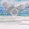 Maurice Christo van Meijel: zonder titel, 18-II- 2012, inkt en potlood op papier, 75 x 105 cm.