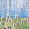 Maurice Christo van Meijel: zonder titel, 11-II- 2012, inkt op papier, 75 x 105 cm.
