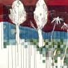 Maurice Christo van Meijel: zonder titel, 14-XI-2001, aquarel en inkt op papier 100 x 150 cm (collectie SBK Amsterdam)