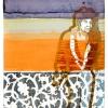 VERKOCHT Maurice Christo van Meijel: zonder titel, 15-VII-2005, inkt en potlood op handgeschept papier, 97 x 77 cm