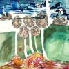Maurice Christo van Meijel: zonder titel, 24-IX-2001, inkt op papier, 77 x 57 cm (particuliere collectie)