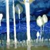 Maurice Christo van Meijel: zonder titel, 26-XI-2002, inkt op papier, 77 x 57 cm.