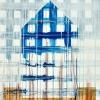 Maurice Christo van Meijel: Ode aan Daniels, 30-VI-2004, aquarel en inkt op papier, 77 x 57 cm.