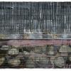 VERKOCHT Maurice Christo van Meijel: zonder titel, IV-2010, inkt op papier, 57 x 77 cm