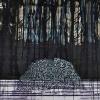 VERKOCHT Maurice Christo van Meijel: zonder titel, 30-IV-2010, inkt en kleurpotlood op papier, 57 x 77 cm