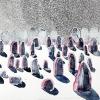 Maurice Christo van Meijel: zonder titel. 18-IX-2011, aquarel en potlood op papier, 57 x 77 cm.