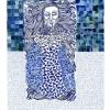 VERKOCHT Maurice Christo van Meijel: Dead Girl (# 5 uit Layla & Majnun), 2006, inkt en potlood op papier, 77 x 57 cm