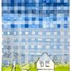 VERKOCHT Maurice Christo van Meijel: # 8 uit HOMETIME, X-2005, inkt en potlood op papier, 77 x 57 cm