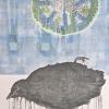 VERKOCHT Maurice Christo van Meijel: zonder titel, 26-IV-2012, inkt en potlood op papier, 105 x 75 cm
