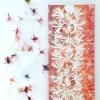 Toorts en bijen III (2019) papier en ijzerdraad, drukinkt op papier en doek, circa 50 x 40 x 15 cm (particuliere collectie)