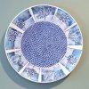 Polderlandschap (2020) keramisch bord, Ø 43 cm
