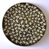Bijen (2019) onderglazuur op keramiek, Ø 38 cm (particuliere collectie)