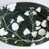 Cucurbiteae (2014) onderglazuur op keramiek, 47 x 30 cm (particuliere collectie)