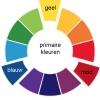 kleurencirkel - primaire kleuren