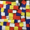 Collage n.a.v. Victor Boogie Woogie van Piet Mondriaan
