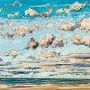 Noordzee (11 VII 2020) pastel op papier, 32 x 49 cm (lijst 44 x 61 cm)