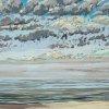 Noordzee (08 VIII 2020) pastel op papier, 32 x 49 cm (lijst 44 x 61 cm)