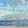 Noordzee (04 VIII 2021) pastel op papier, 32 x 49 cm