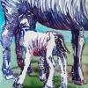 Zogen 3 (2015) aquarel op papier, 40 x 30 cm (particuliere collectie)